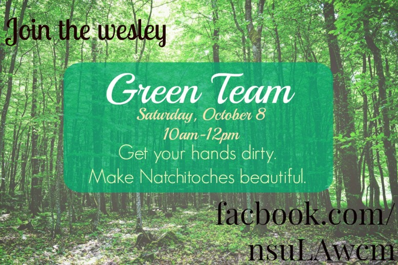 Green Team October 8