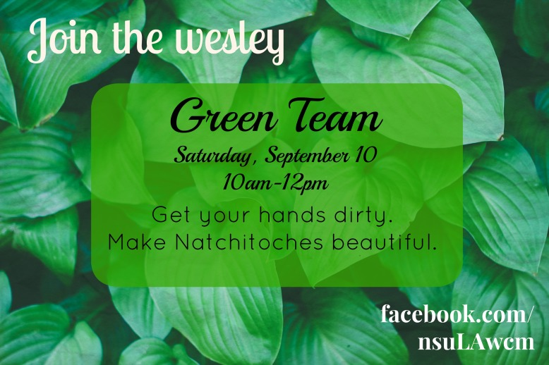 Green Team September 10