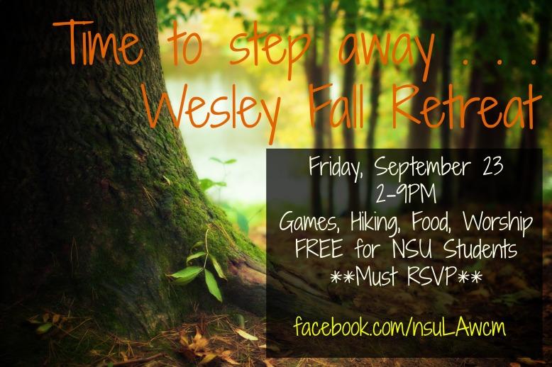 Wesley Fall Retreat 1